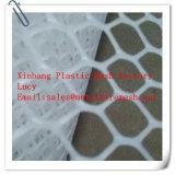 Treillis métallique plat en plastique ou compensation plate en plastique avec des tailles : 1 x 30, 1 x 50 et 2 X 100m/Roll ou personnalisé