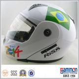 De koele Tik van het Vizier Doubel op Helm voor de Ruiters van de Motorfiets (LP501)
