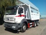 低価格のよい状態のベンツの技術の使用されたBeibenのダンプカーのダンプトラック6X4 340HP