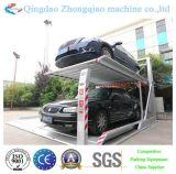 Zwei Pfosten-Hauptgebrauch-hydraulischer Auto-Parken-Aufzug