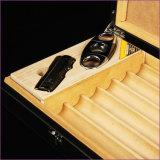 Humidificateurs en bois de cigare de course de cèdre de Cohiba avec les outils entiers de cigare (ES-CA-004)
