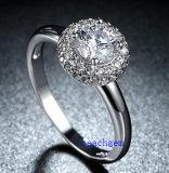 Heet verkoop de Ringen van het Messing van het Zirkoon van Juwelen (R0830)