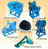 Überschüssige Reifen-Scherblock-Maschine/Gummireifen-Ring-Scherblock für die Wiederverwertung des Gummireifens