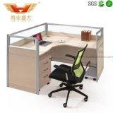 Estação de trabalho de madeira moderna do escritório para a mobília de escritório