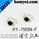 2 * 4mm Mini commutateur tactile électronique Tact Switch (HY-1100N-F)