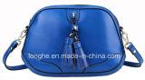 Bolsa do couro do Tassel da cor dos doces da forma (LY0057)