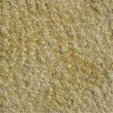 Pietra naturale dell'arenaria di colore giallo del rivestimento della parete esterna