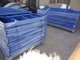 Загородка скотин фермы загородки металла PVC Caoted