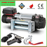 12500lbs Automatic 12V Winch com Wire Rope