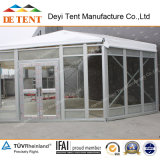 Hexagon Exhibition Tent mit Glass Wall