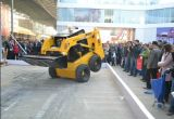 Bestes Wheel Skid Steer Loader mit Planer Ws65 Skid Steer Loader