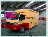 Kundenspezifischer Küche-Wohnwagen mit grossem Rad Screpe, das Karre herstellt