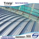 Système de Clading de la toiture Trizip65-430 et du mur