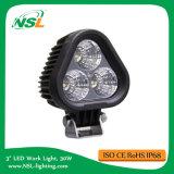 트럭을%s 30W 크리 사람 시리즈 LED 일 빛, 3PCS*10W LED 일 빛, 반점 또는 플러드 LED 일 빛