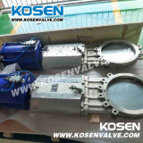 Запорные заслонки ножа вафли волочения нержавеющей стали (PZ73)