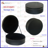 PU Leather Round Storage Box шлема (5506R6)
