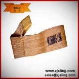 imbracatura 6t X 3m Brown della tessitura del poliestere 6t (può essere personalizzato)
