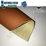 Le cuir synthétique de PVC pour l'automobile pose des chaussures de sac de capitonnage