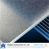 vidrio solar modelado hierro inferior de 3.2m m/vidrio Tempered