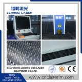 Machine de découpage de laser de fibre d'acier inoxydable Lm4015g avec le Tableau simple