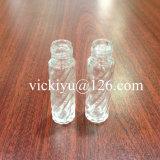 piccole bottiglie di vetro del cilindro 8ml per le estetiche
