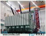 transformateur d'alimentation de 220kv 120mva avec sur le commutateur de taraud de chargement