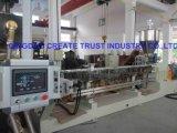 Штрангпресс управлением PLC Simens верхнего качества Китая пластичный/пластичная прессуя машина
