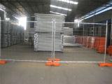 مؤقّت يسيّج مصنع إمداد تموين