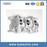 Carcaça de alumínio do OEM para o distribuidor de entrada de prata