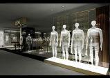 De Inrichtingen van de Vertoning van het kledingstuk voor Mensen die Detailhandel van Fabriek kleden