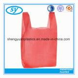 Полиэтиленовый пакет покупкы тенниски HDPE & LDPE для супермаркета