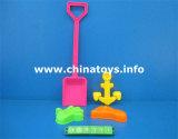 プラスチック浜の一定のおもちゃ。 夏のおもちゃ浜車、踏鋤(574408)