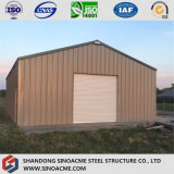 Entrepôt en acier léger préfabriqué de construction pour la mini grange