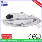 Calentarse/superficie blanca fresca ahuecada alrededor del panel de 20W LED