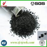 Taille de carbone activé granulaire à base de charbon 1-8mm avec iode 300-1000mg / G