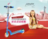 LED 가벼운 바퀴를 가진 2 바퀴 Foldable 아이의 걷어차기 아기 스쿠터