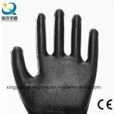 Нитрил покрыл трудные защитные перчатки работы техники безопасности на производстве (N002)