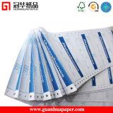 Papier listing continu d'OIN fait de papier autocopiant