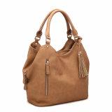 Signora d'avanguardia Hobo Bag (MBNO040002) della nappa di disegno di Tre-Strato