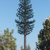 テレコミュニケーションの木の鋼鉄Monopoleタワーかごまかされた松の木タワー