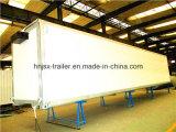 Cigarettorのためのアルミ合金DryヴァンSemi Trailer他のバルク貨物輸送