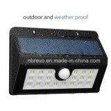 Lumière solaire de degré de sécurité de détecteur de mouvement d'épreuve de l'eau de 45 DEL (RS2014)