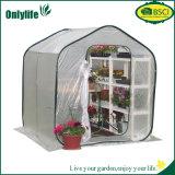 Onlylife landwirtschaftlicher Garten-Plastikgewächshaus mit transparentem Film
