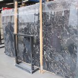 Brame grise de marbre de pierre de qualité de brame de vente chaude pour l'étage