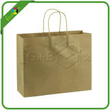 De Zak van het bruine/Document van Kraftpapier met Handvat voor de In het groot Verpakking van de Doek