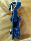 Tipo ligero polea del cable del bloque de arrebatamiento del campeón con el gancho de leva