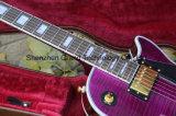 Guitare électrique de type de Lp de couleur de pourpre de la coutume 1957