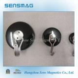Мощный постоянный керамический агрегат магнитов, магнитные крюки