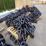 Китай покрасил черную анкерную цепь соединения стержня