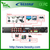 Shezhen HD Security와 Network DVR 4CH. H264 가득 차있는 D1 CCTV 가정 기록병 영상 DVR